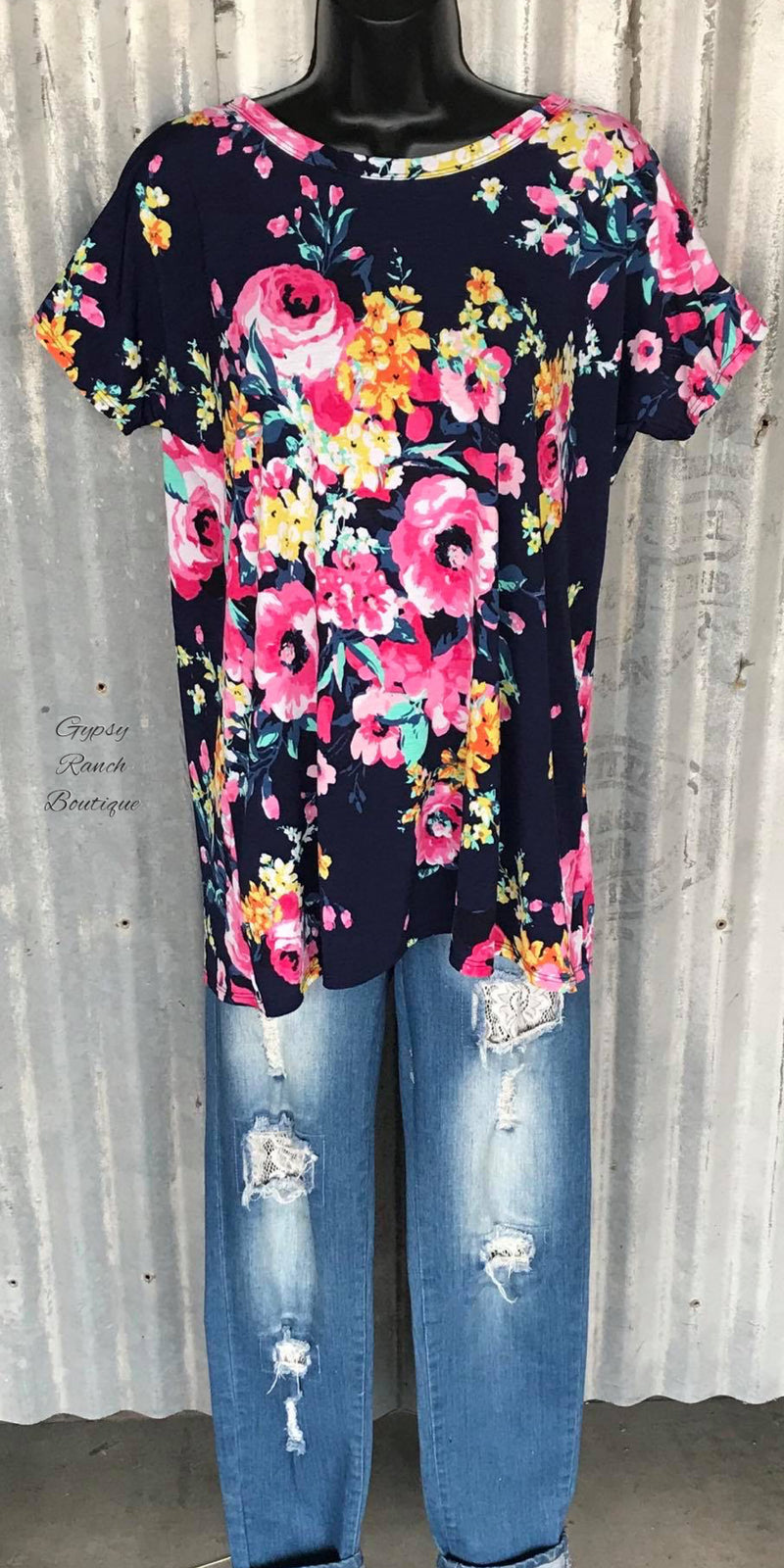 Treasure Bay Floral Top