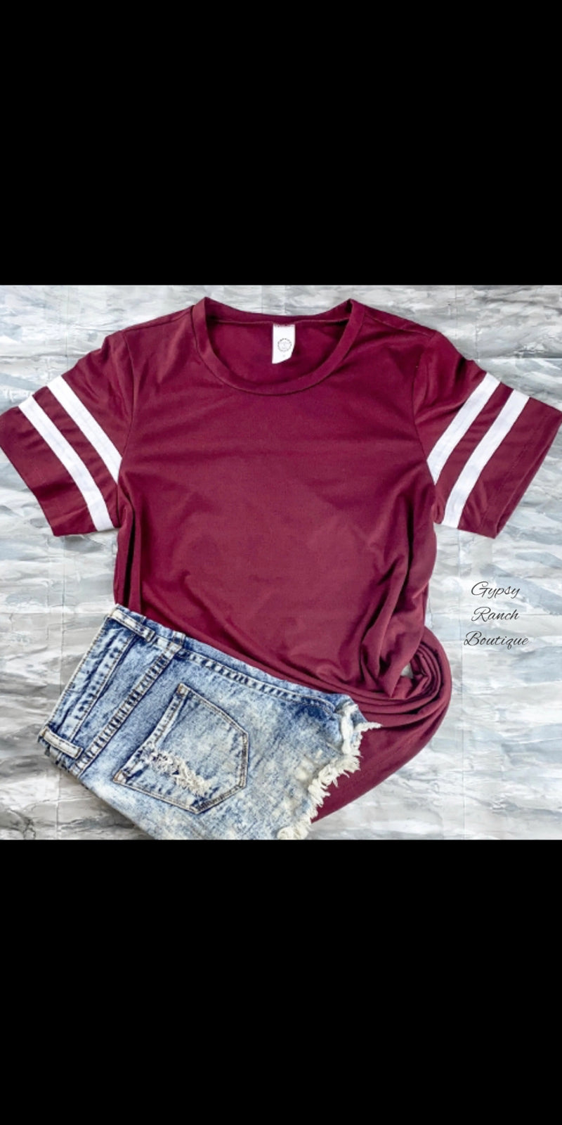 College Varsity Top - Also in Plus Size