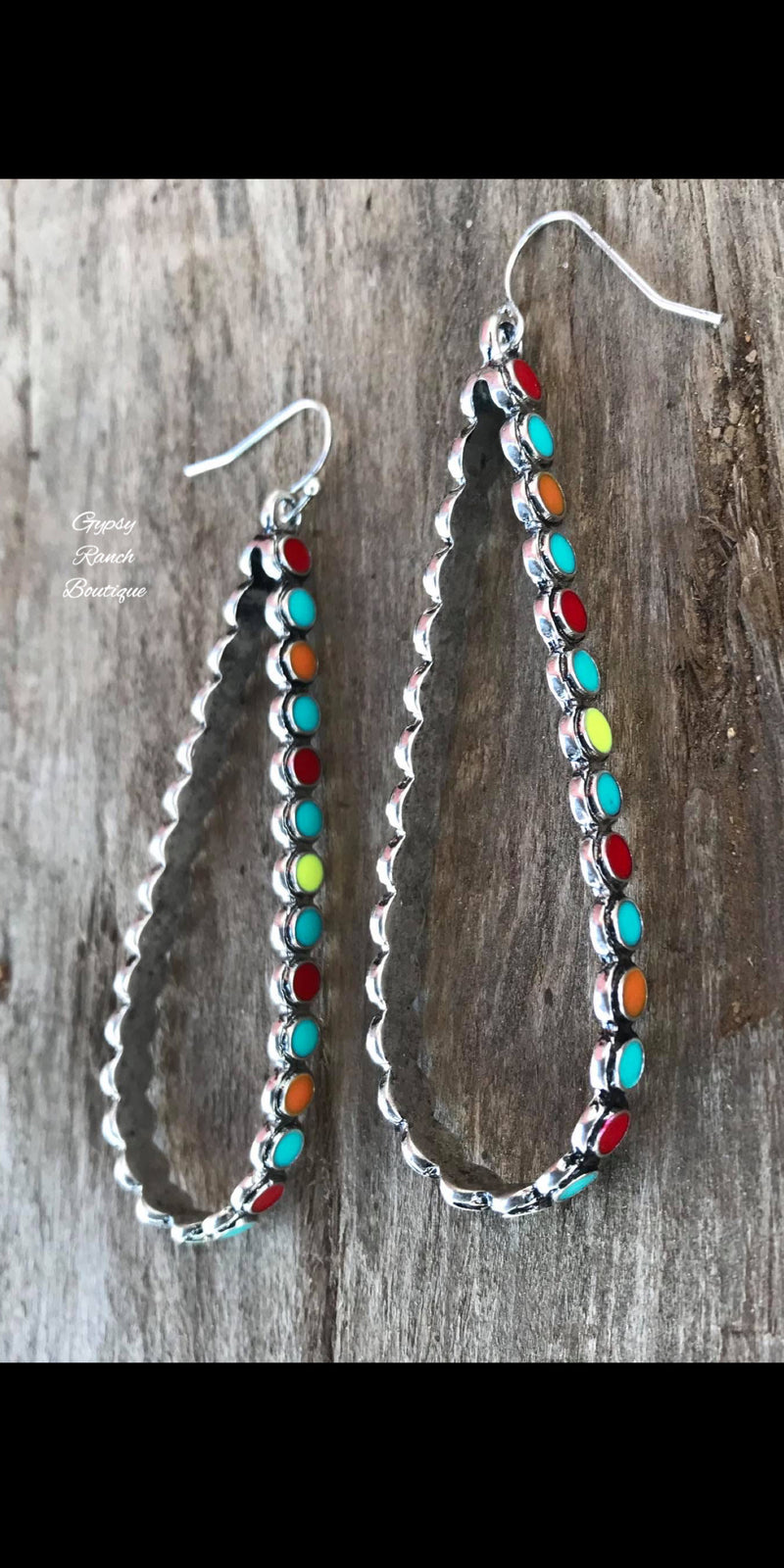 Fortunate Fame Multi Color Earrings