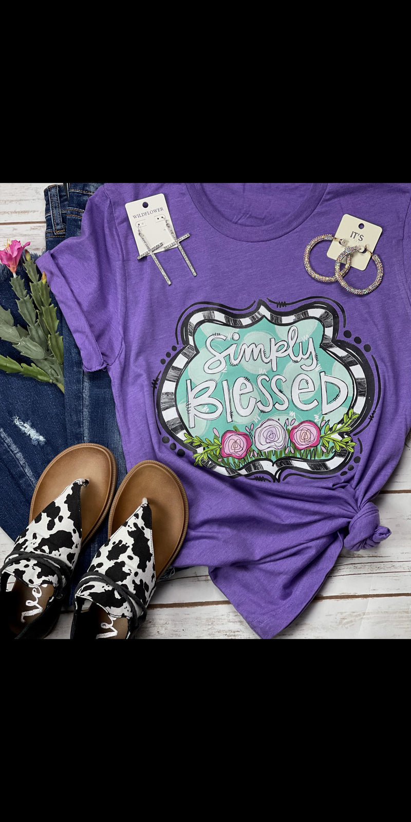 Simply Blessed Top - Also in Plus Size