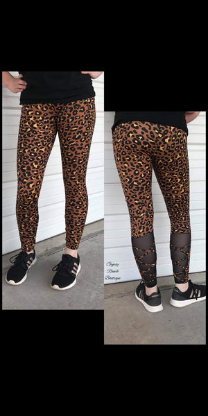 Hightower Leopard Athletic Leggings - Also in Plus Size