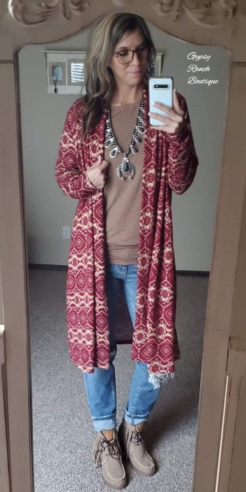Cole Tribal Cardigan - Also in Plus Size