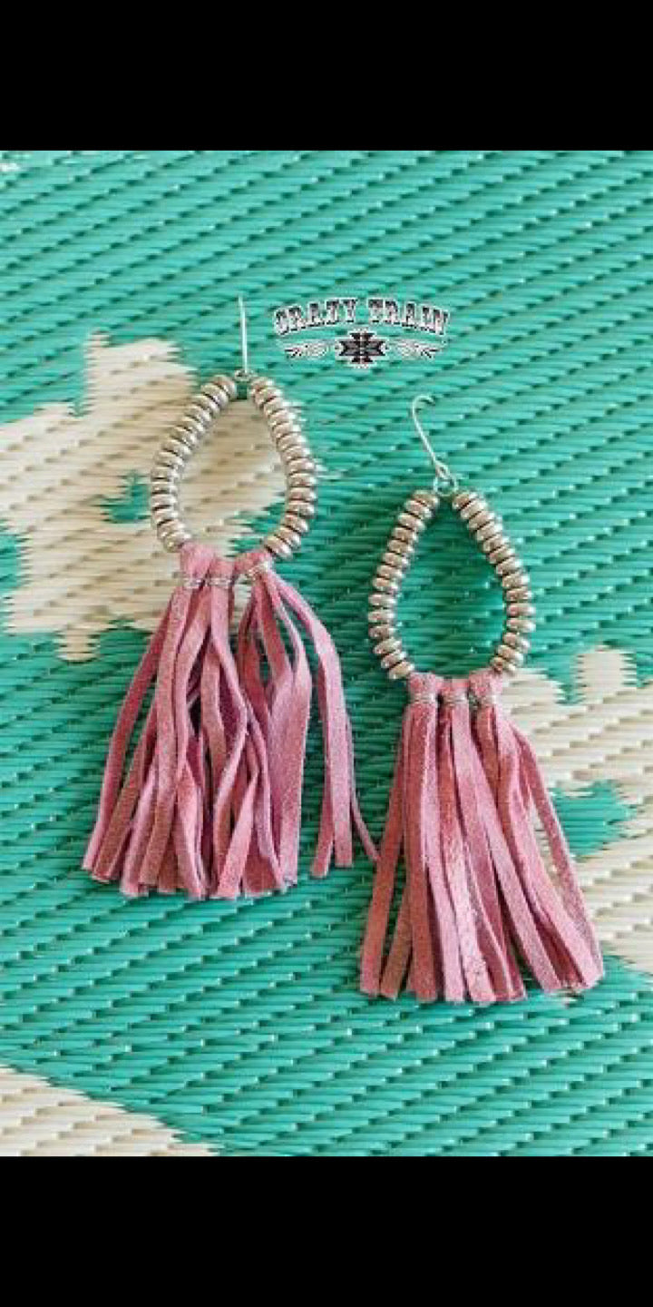 Rio Bravo Blush Earrings