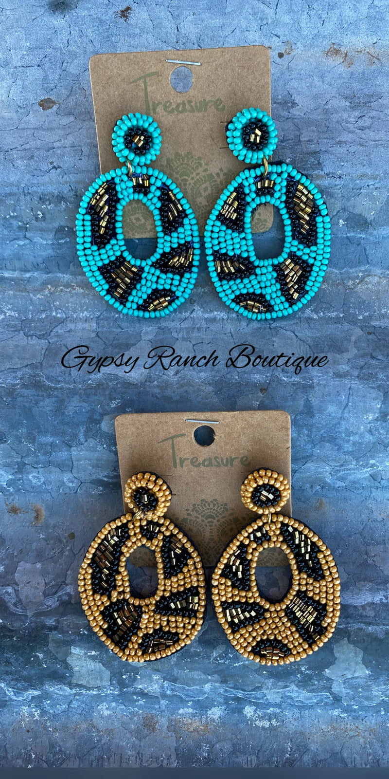 Brenham Leopard Earrings