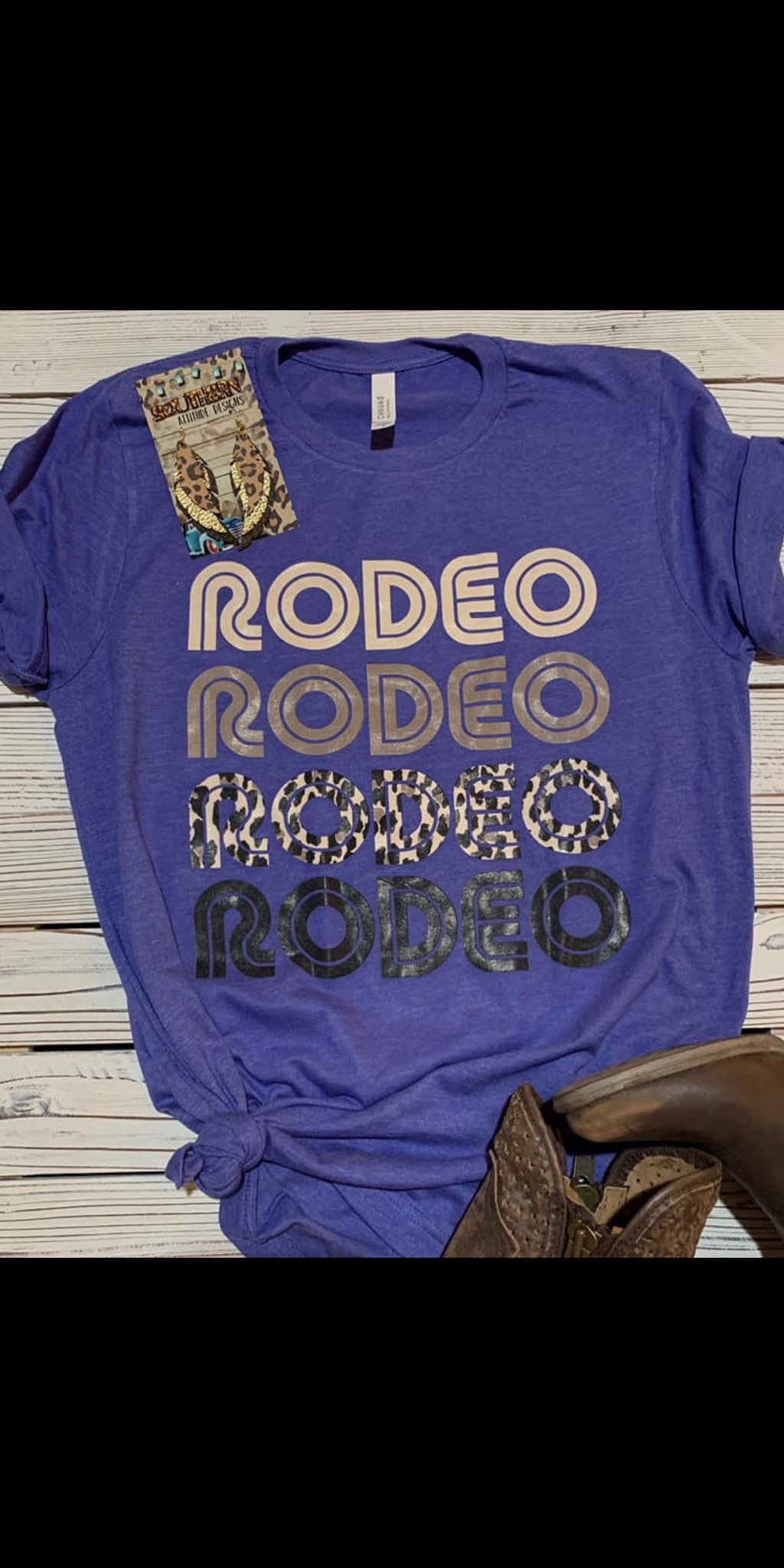 Rodeo Rodeo Rodeo Top - Also in Plus Size
