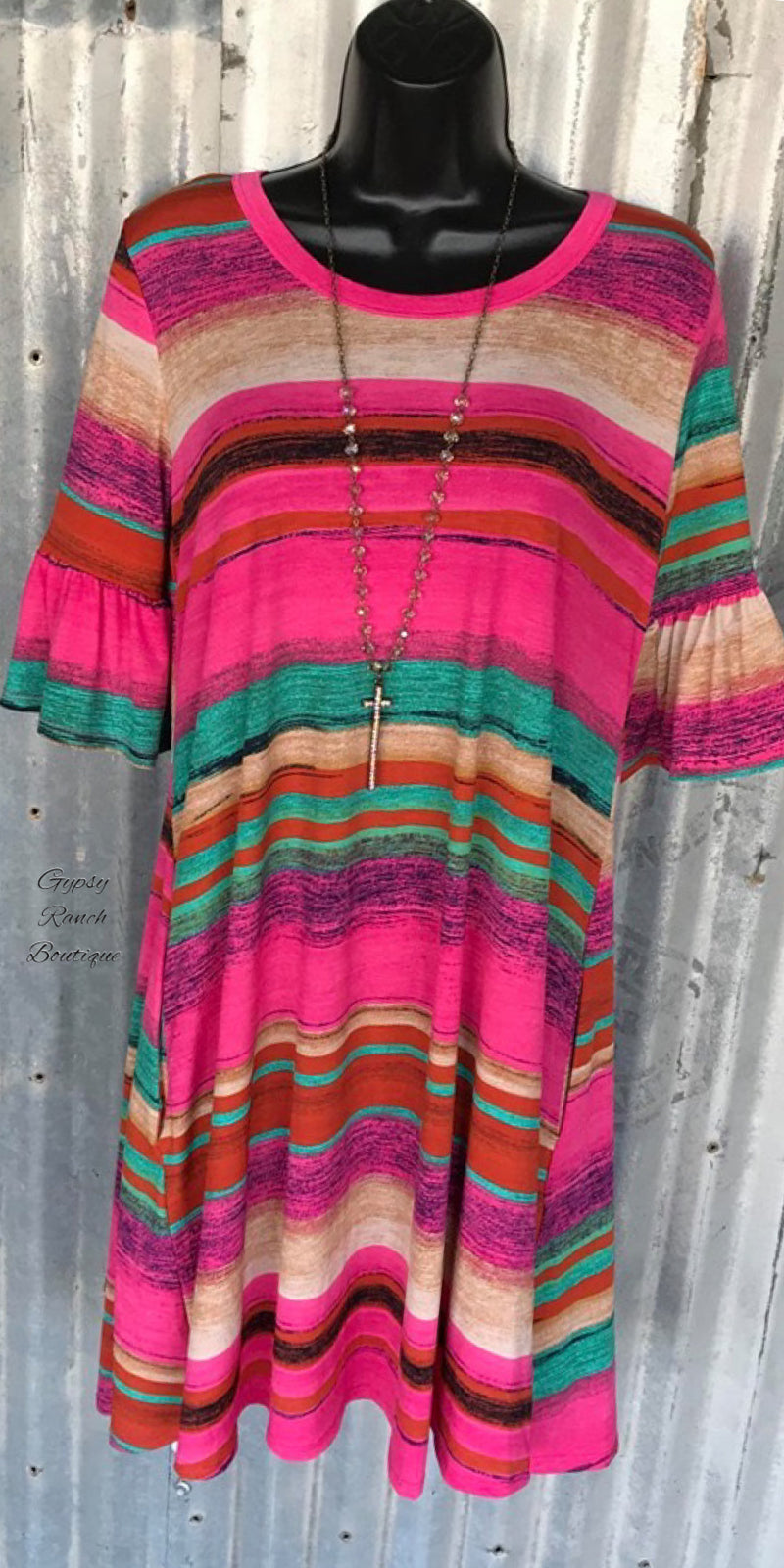 Hunter Serape Tunic Top or Dress - Also in Plus Size