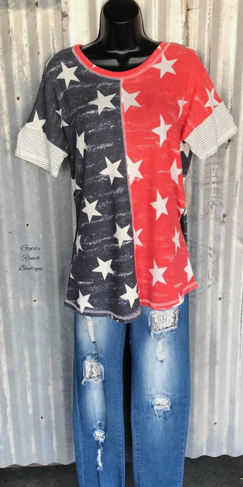 Star Spangled Top - Also in Plus Size