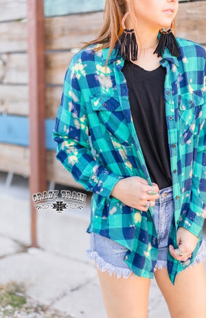 Aren't You Plaid Top - Also in Plus Size
