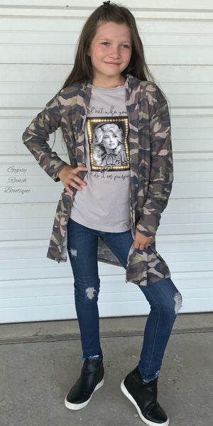 Kids Colorado Camo Cardigan