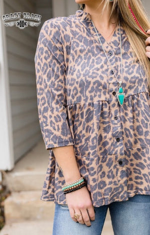 Great Creator Leopard Top
