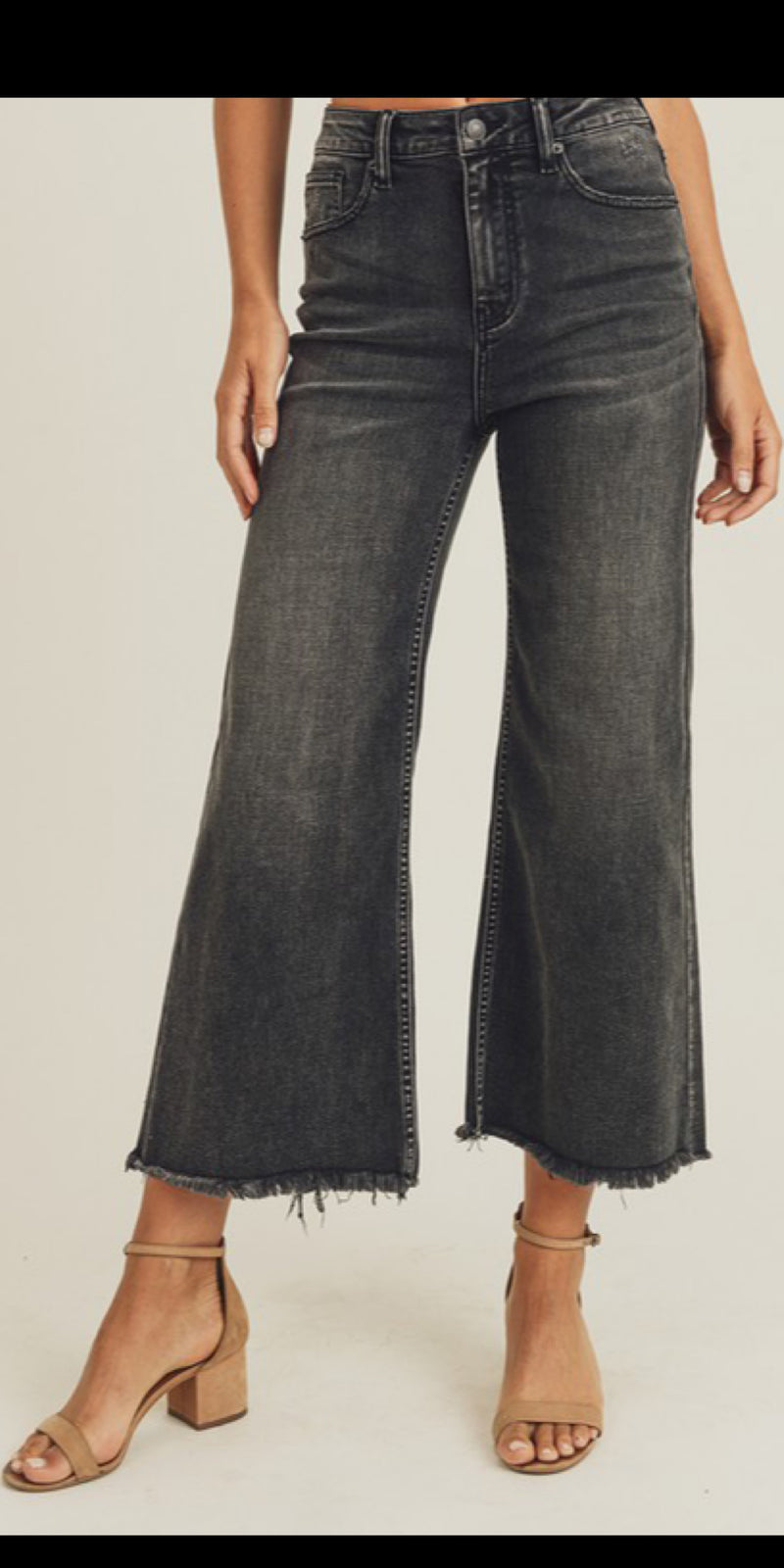 The Dutton Black Jeans - Also in Plus Size