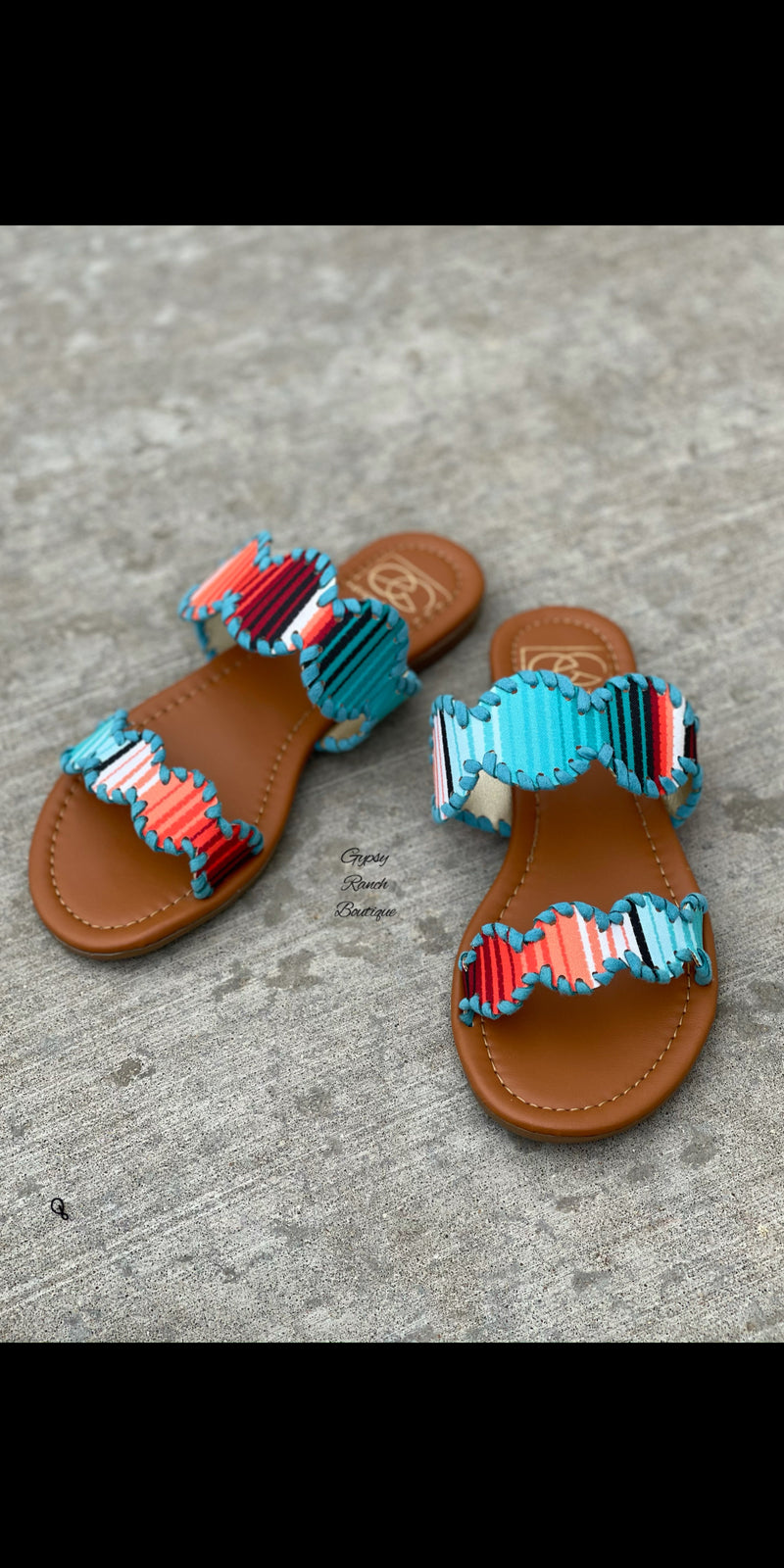 McCoy Serape Sandals