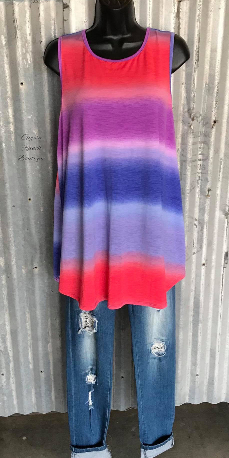 RaeLee Serape Tank Top - Also in Plus Size