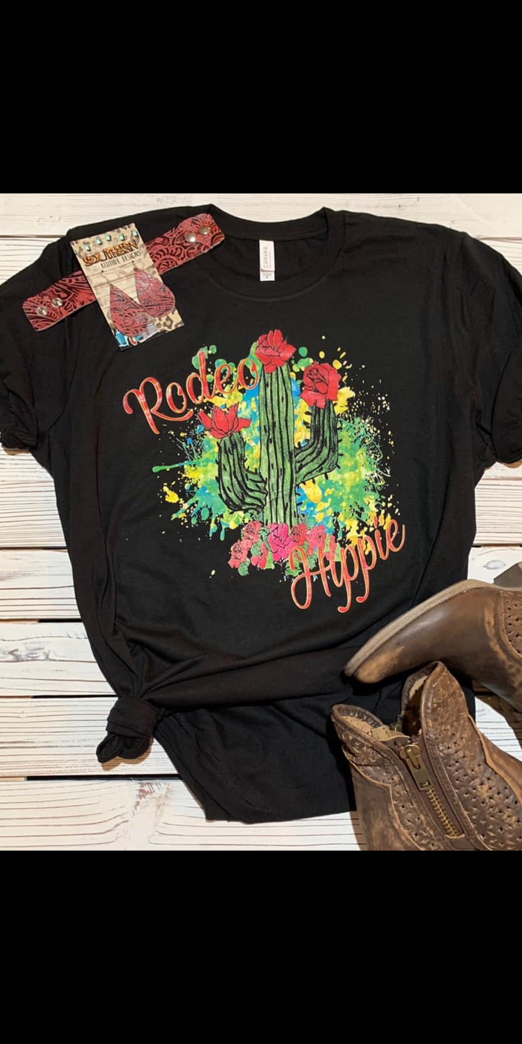 Rodeo Hippie Top - Also in Plus Size