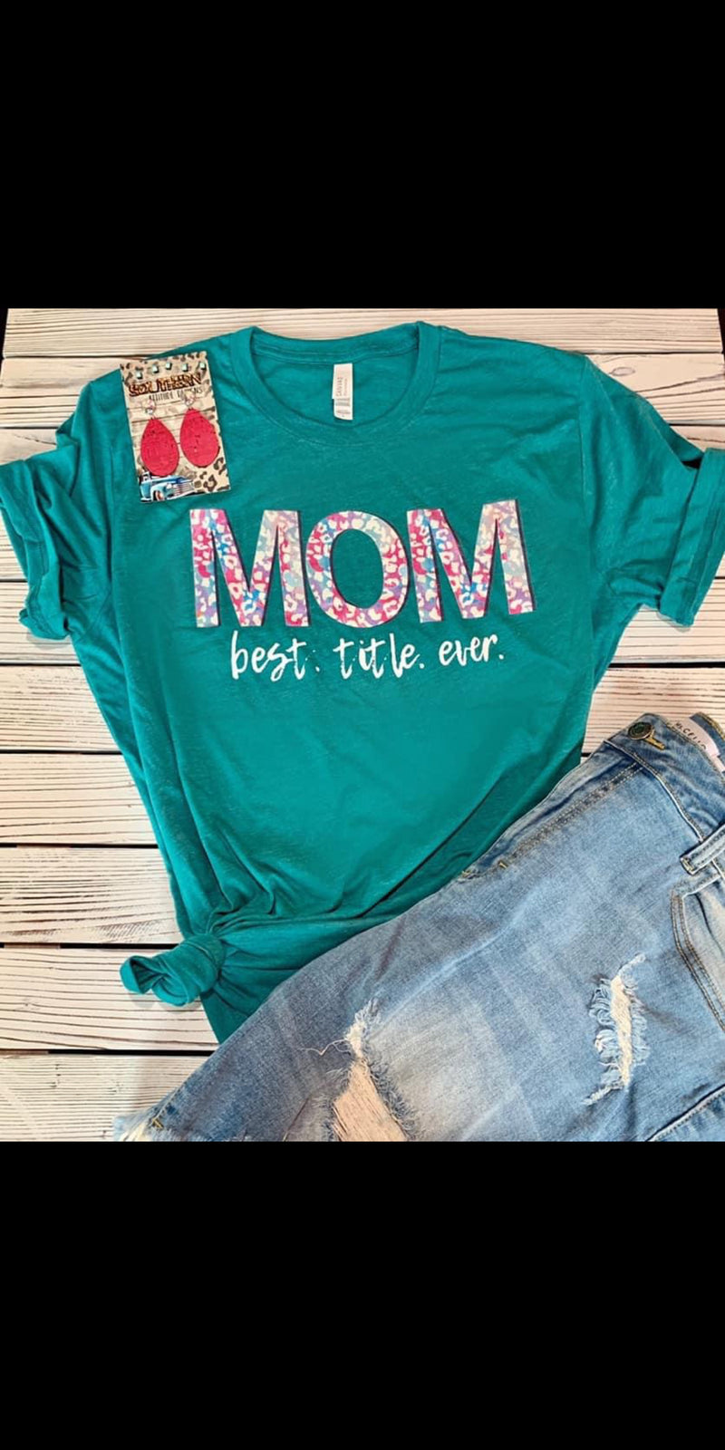 MOM Best Title Ever Top - Also in Plus Size