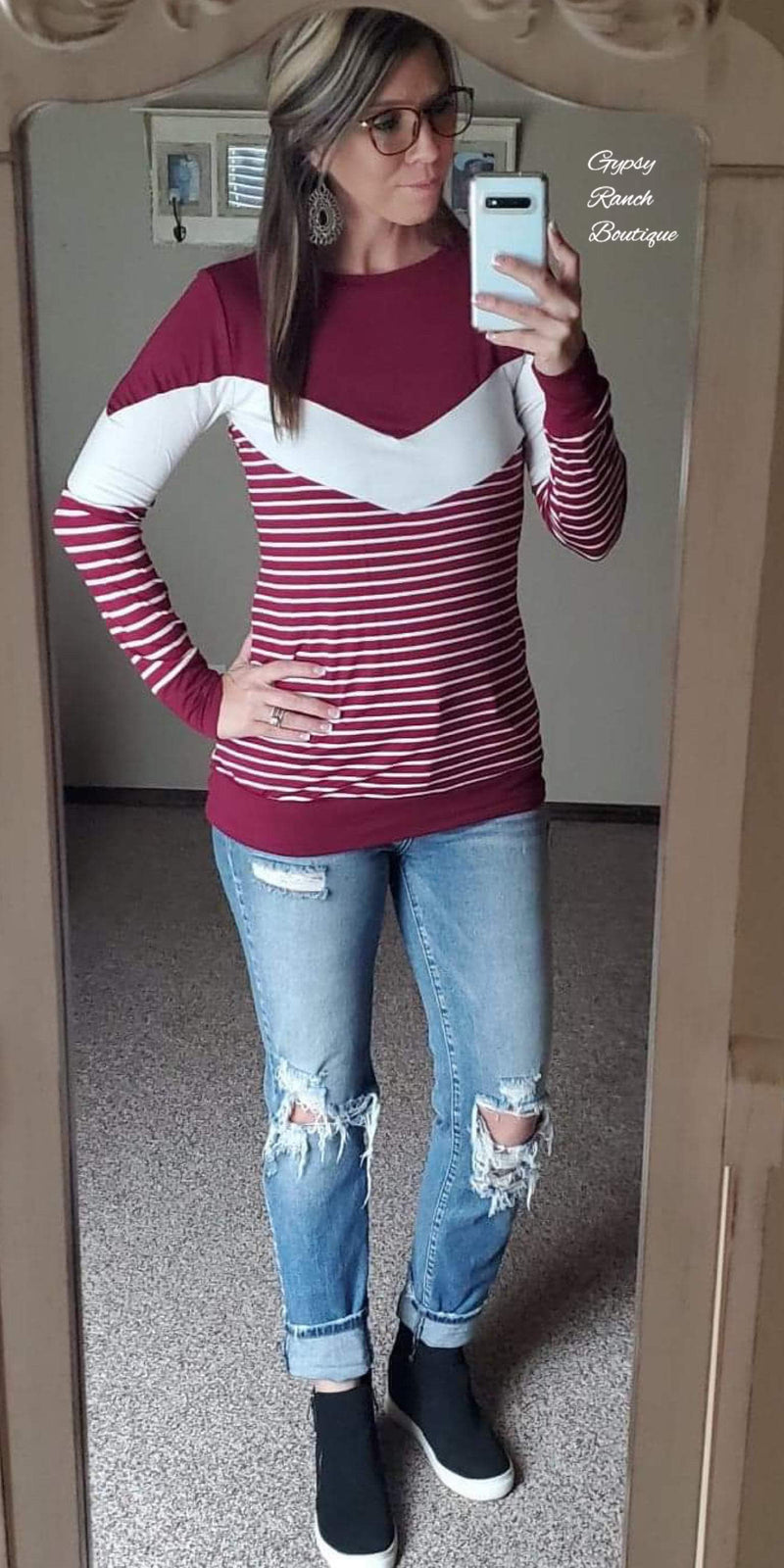 Montgomery Stripe Top