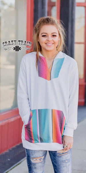 Tampico Serape Top - Also in Plus Size