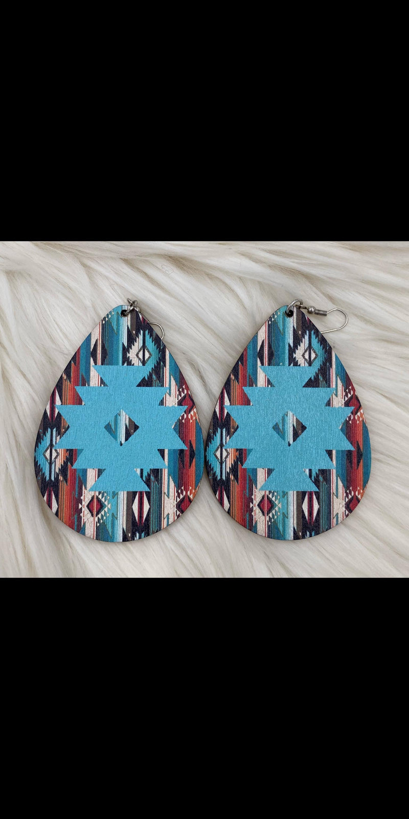 Albuquerque Aztec Earrings