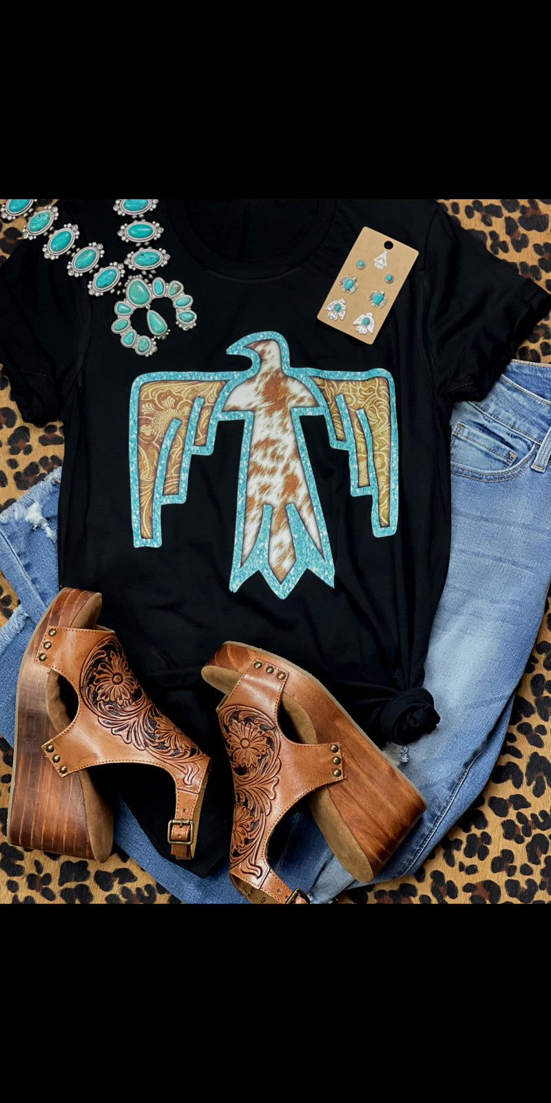 The Tooled Thunderbird Top - Also in Plus Size