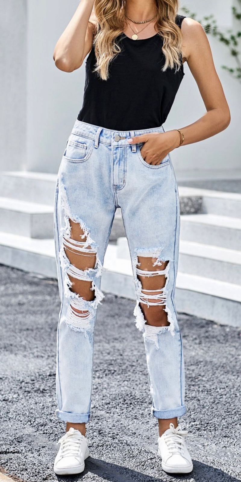 The Cisco Distressed Jeans