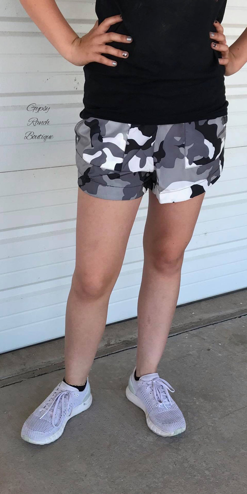 Everyday Camo Shorts