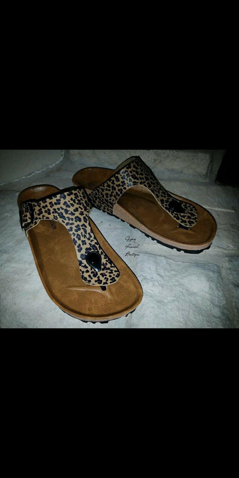Lakota Leopard Sandals