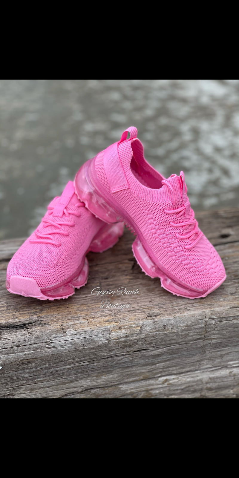 Kids Hot Pink Kicks Shoes