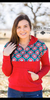 Christmas Cross Pullover Top -Also in Plus Size