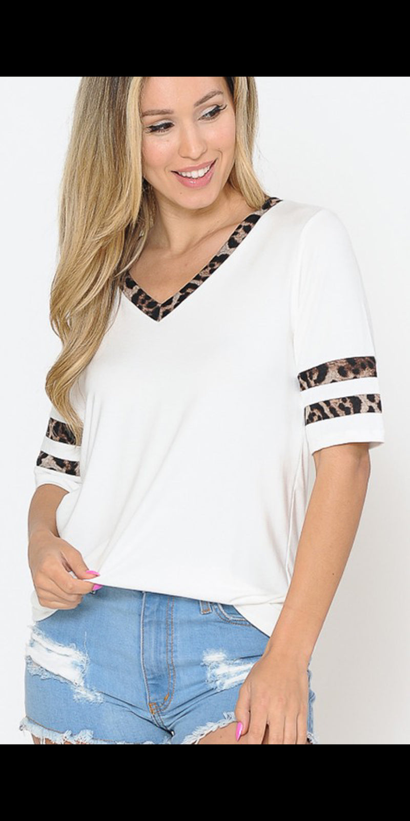 Kalin Leopard Top - Also in Plus Size