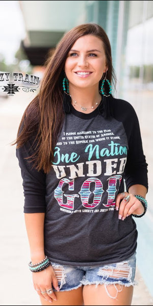 One Nation Under God Top - Also in Plus Size