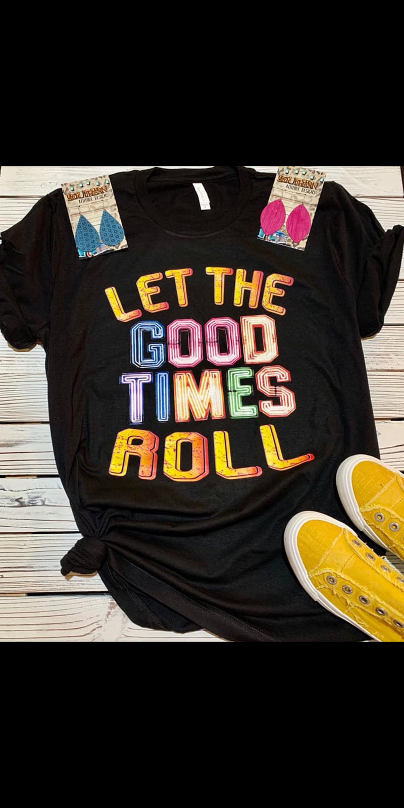Let the Good Times Roll Top - Also in Plus Size