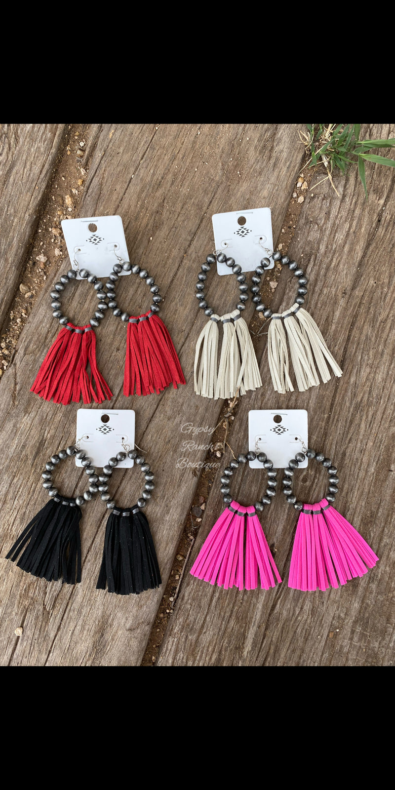 No Limit Fringe Earrings