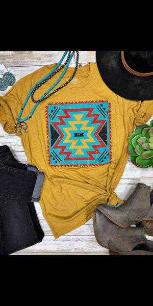 Bridget Aztec Top - Also in Plus Size