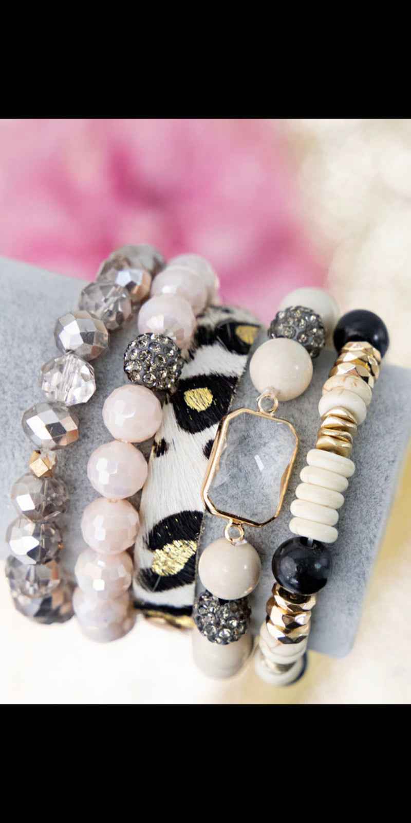 Make A Statement Leopard Collection Bracelet