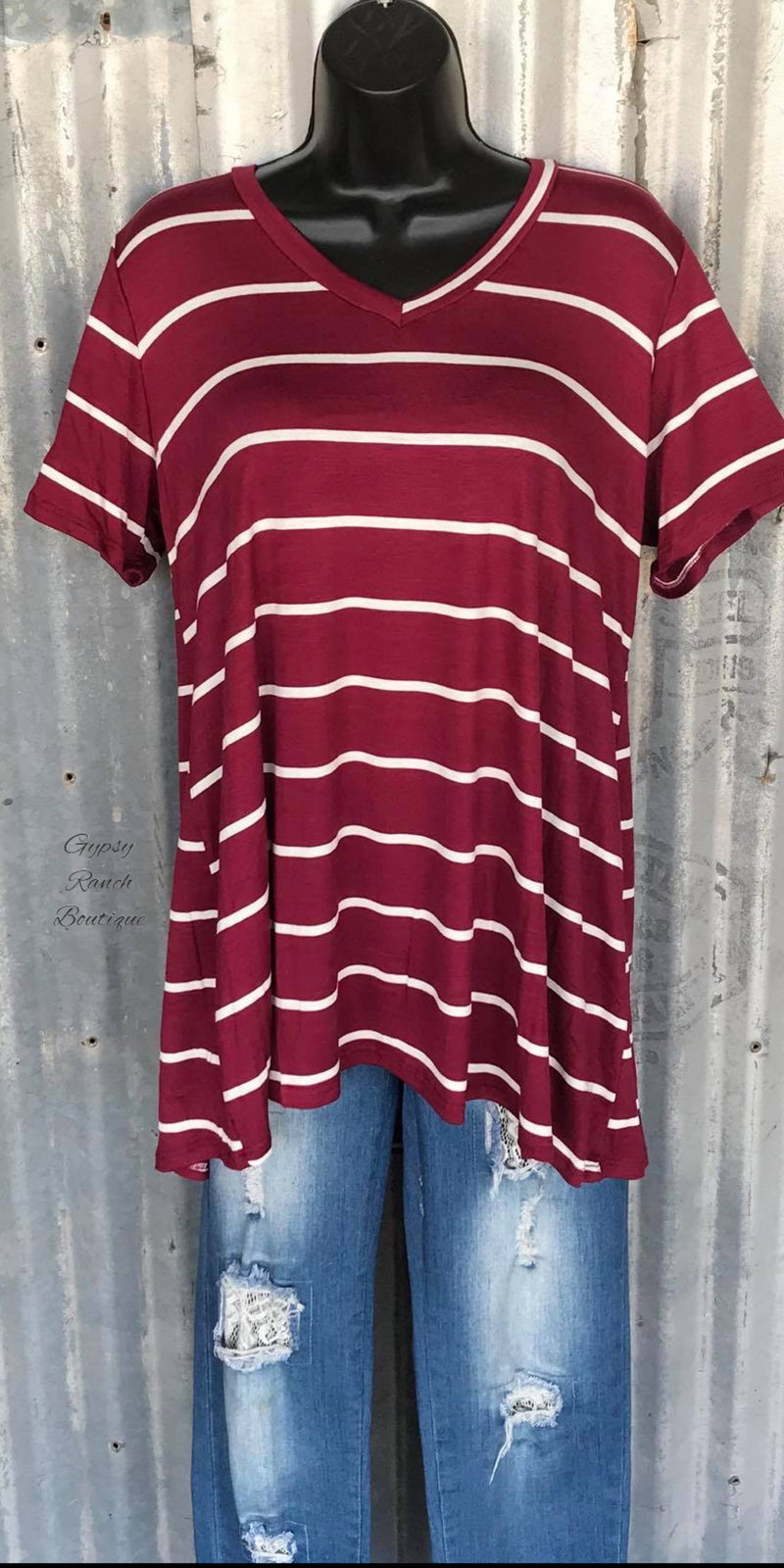 Tucson Stripe Top - Also in Plus Size