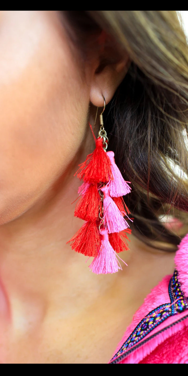 Treasure Island Tassel Earrings
