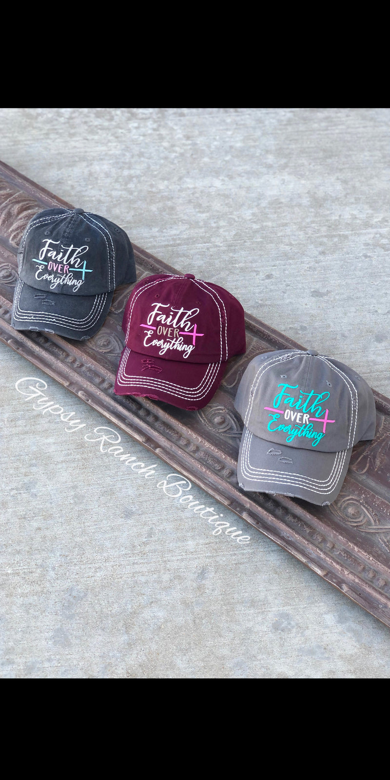 Faith over Everything Cap