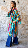 Palin Embroidered Serape Aztec Cardigan - Also in Plus Size