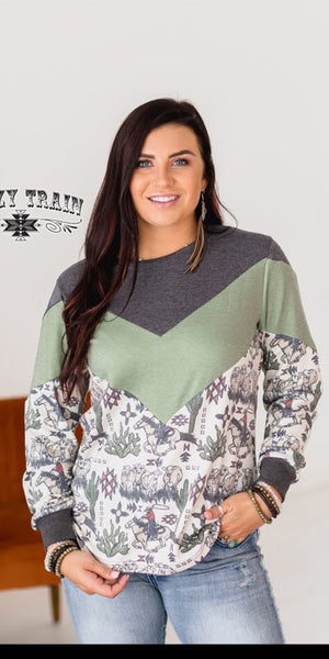 All Hat & No Cattle Top - Also in Plus Size