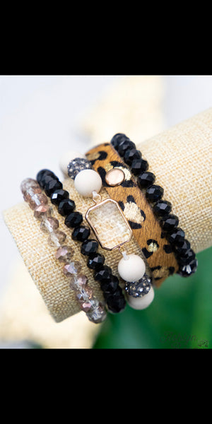 Essential Elegance Leopard Collection Bracelet