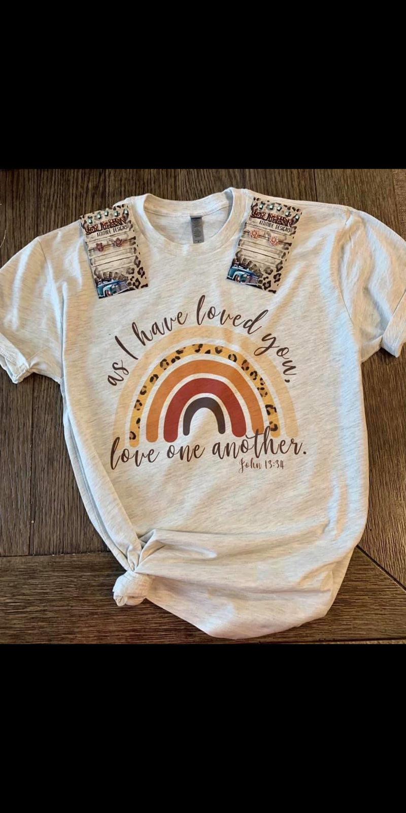 As I Have Loved You Love One Another Top - Also in Plus Size