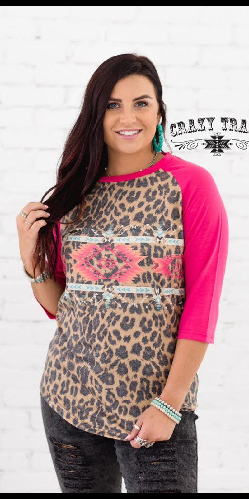 Border Town Leopard Top - Also in Plus Size