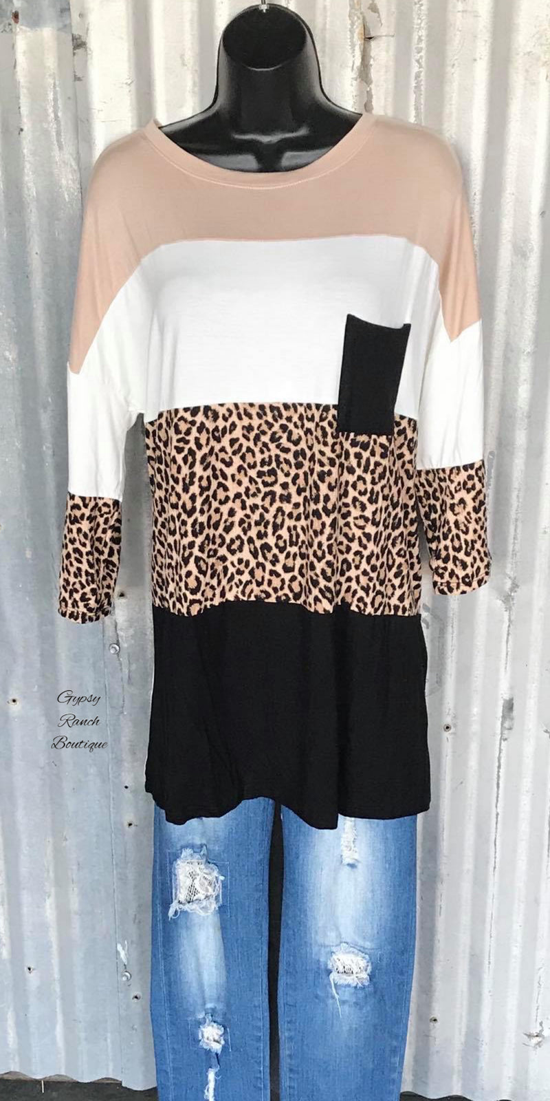 Mineola Leopard Top - Also in Plus Size