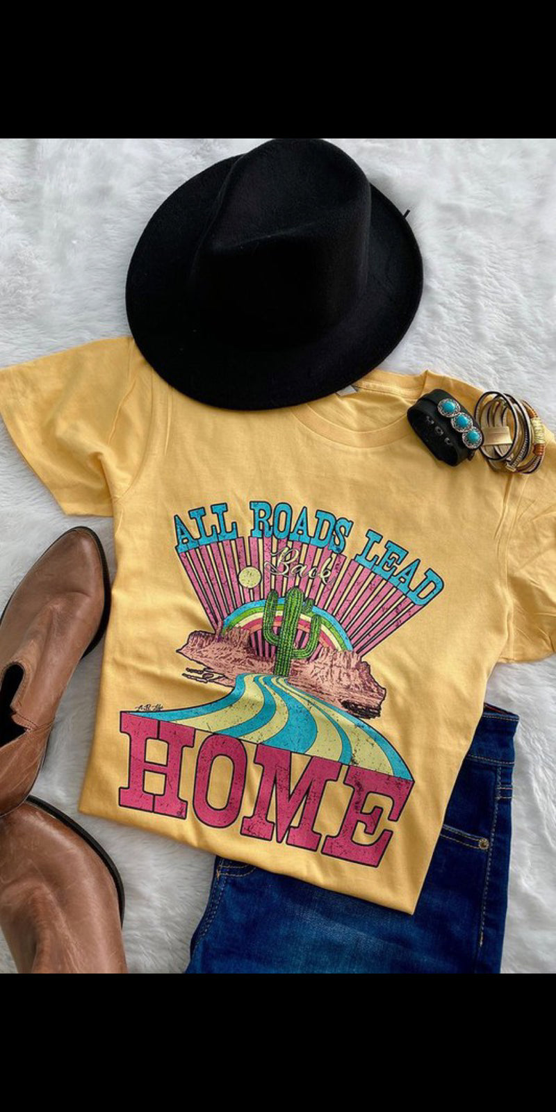 All Roads Lead Back Home Top - Also in Plus Size