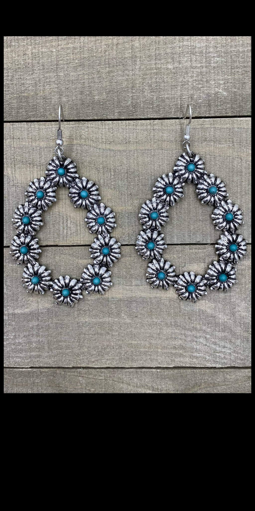 Canadian Silver Turquoise Earrings