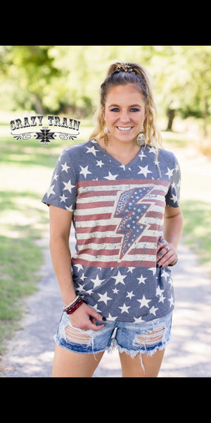 American Thunder Top - Also in Plus Size