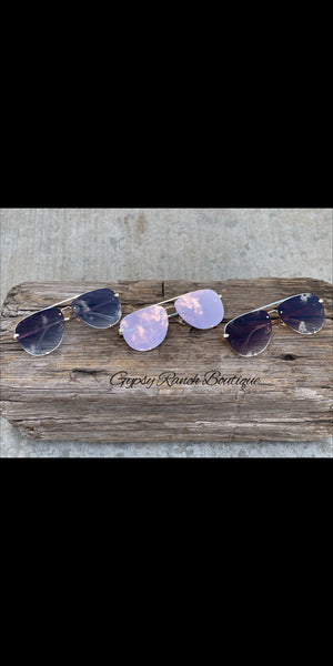 Hotel California Aviator Sunglasses