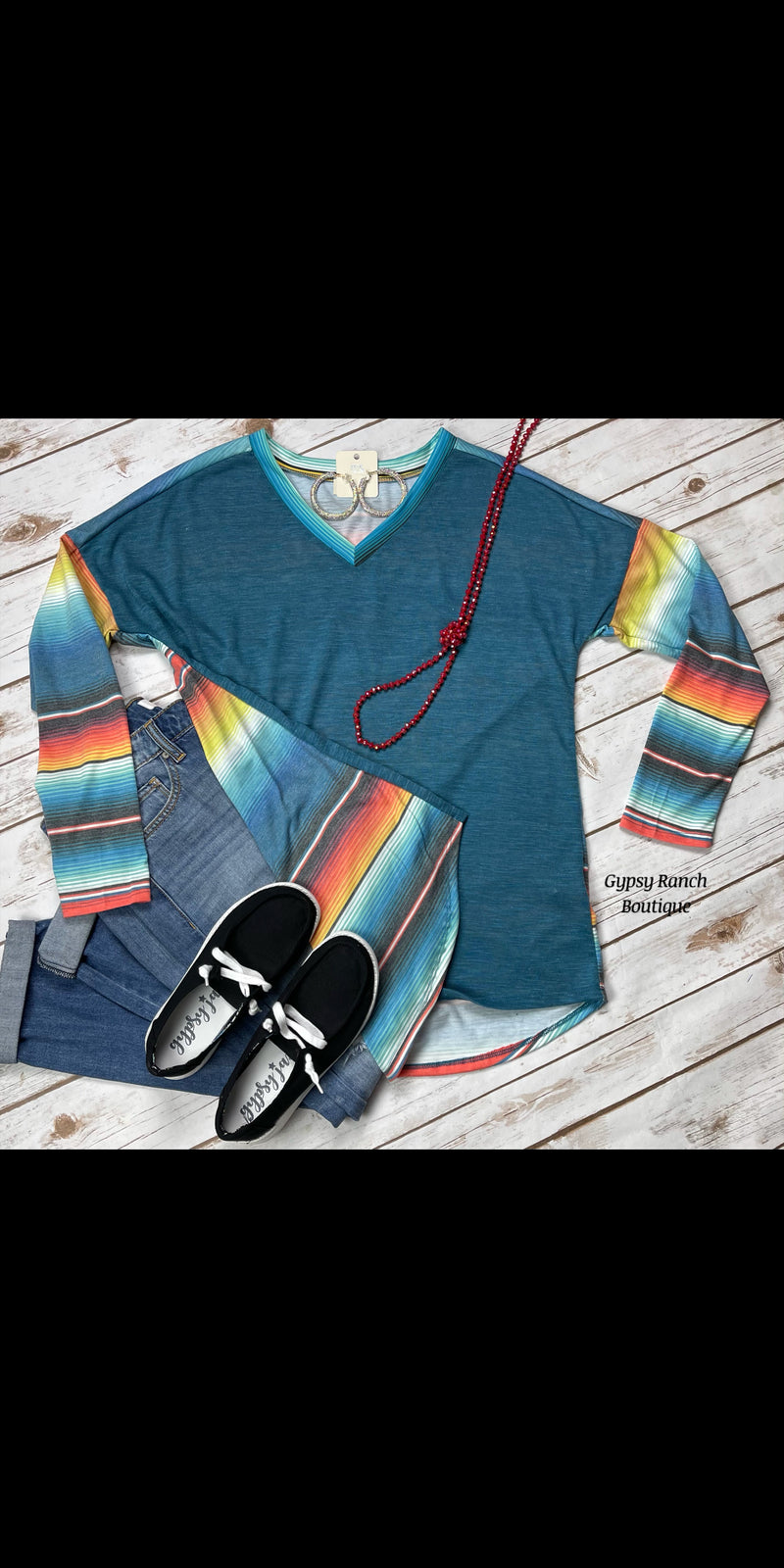 Madden Serape Top - Also in Plus Size