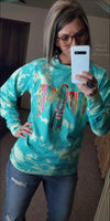 Timber Aztec Thunderbird Turquoise Top - Also in Plus Size
