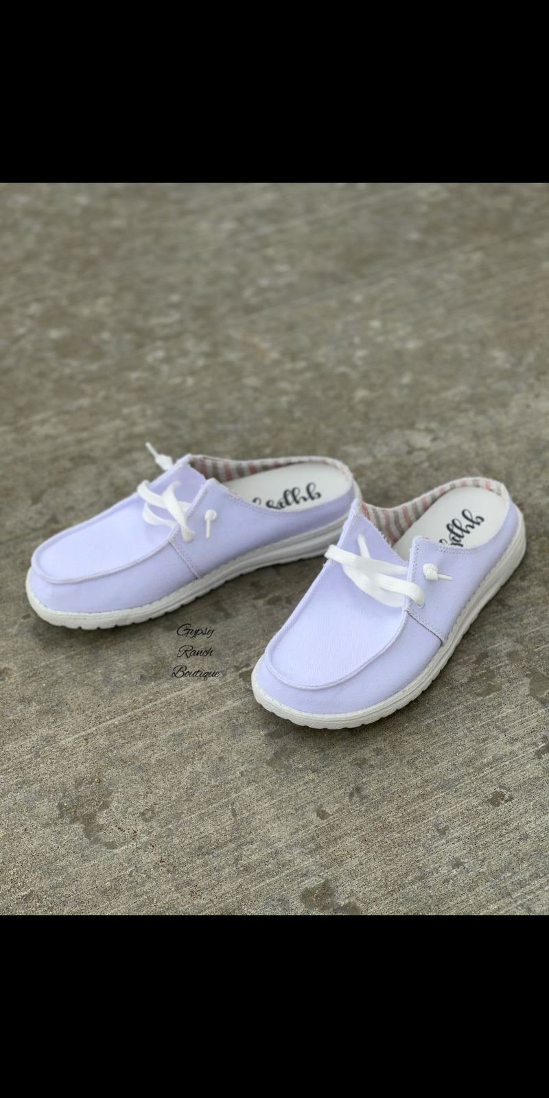 Sailor Gypsy Jazz WHITE Slip On Shoes
